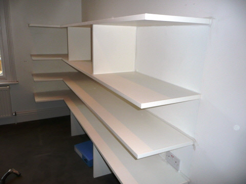 Bloomsbury-WC1 Office Storage Shelves