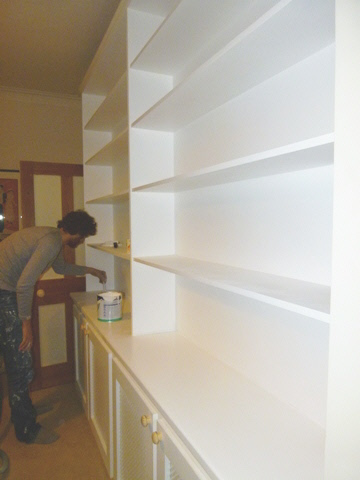 Bloomsbury-WC1 Fitted bookcases