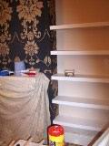 alcove shelves